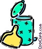 Garbage Waste Trash Vector Clipart image