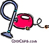 Vacuum Cleaners Vector Clip Art graphic