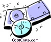 Vector Clipart image  of a CD-ROM Media