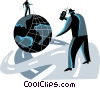 communication concept Vector Clipart picture