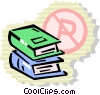 Books and Records Vector Clipart illustration