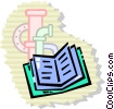 Vector Clipart graphic  of a Books and Records