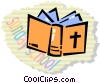 Vector Clip Art picture  of a Bibles