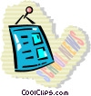 Vector Clip Art image  of a Messages