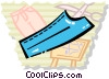 Vector Clipart illustration  of a Fabric