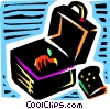 Vector Clipart illustration  of a Lunch