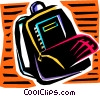 Schoolbags and Knapsacks Vector Clip Art graphic