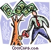 Vector Clipart graphic  of a Financial Security