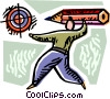 Targets and Objectives Vector Clipart image