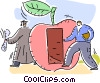 Vector Clip Art image  of a Vocational Training