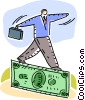 Vector Clip Art picture  of a Financial Concepts