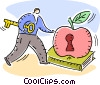 Vocational Training Vector Clip Art picture