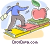 Vector Clip Art graphic  of a Vocational Training