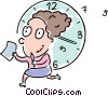 Vector Clip Art picture  of a Concepts of time