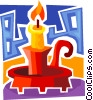 Candles Vector Clipart image