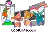 Vector Clip Art picture  of a Investment and Stock Market