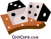 Dice Vector Clip Art graphic