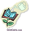 Vector Clip Art picture  of a Graduation concepts
