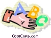 Vector Clip Art image  of an alphabet
