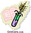 Vector Clipart picture  of a Biology