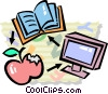 education concept Vector Clipart illustration