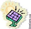 Solar Vector Clipart illustration