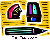 Vector Clip Art graphic  of a Pencil Sharpeners