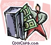 Financial Success Vector Clip Art picture