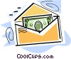 Vector Clipart image  of a Dollars