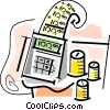 Calculators Vector Clipart image
