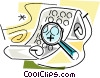 Investigation and Research Vector Clipart picture