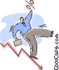 Charting Success Vector Clipart picture
