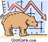 Investment and Stock Market Vector Clipart illustration