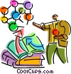 Vector Clipart illustration  of a Scientists and Researchers