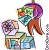 Scientists and Researchers Vector Clip Art graphic