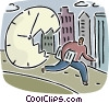 Concepts of time Vector Clipart image