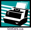 Vector Clipart picture  of a Printers