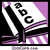 Books Vector Clipart graphic