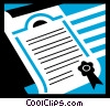 Diplomas Vector Clip Art graphic