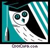 Vector Clipart image  of a Graduates