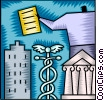 Medical Finance concept Vector Clipart image
