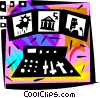 Vector Clipart image  of a Online Concepts