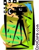 Video Cameras Vector Clip Art image