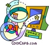 Assorted Metaphors Vector Clip Art picture