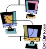 Intranets Vector Clipart picture