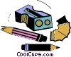 Vector Clipart picture  of a Pencil Sharpeners