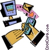 Vector Clipart image  of a Communication Concepts