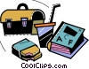Lunch Vector Clip Art image