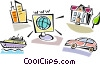 Vector Clip Art image  of a Miscellaneous
