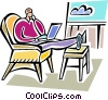 Businessmen Vector Clipart image
